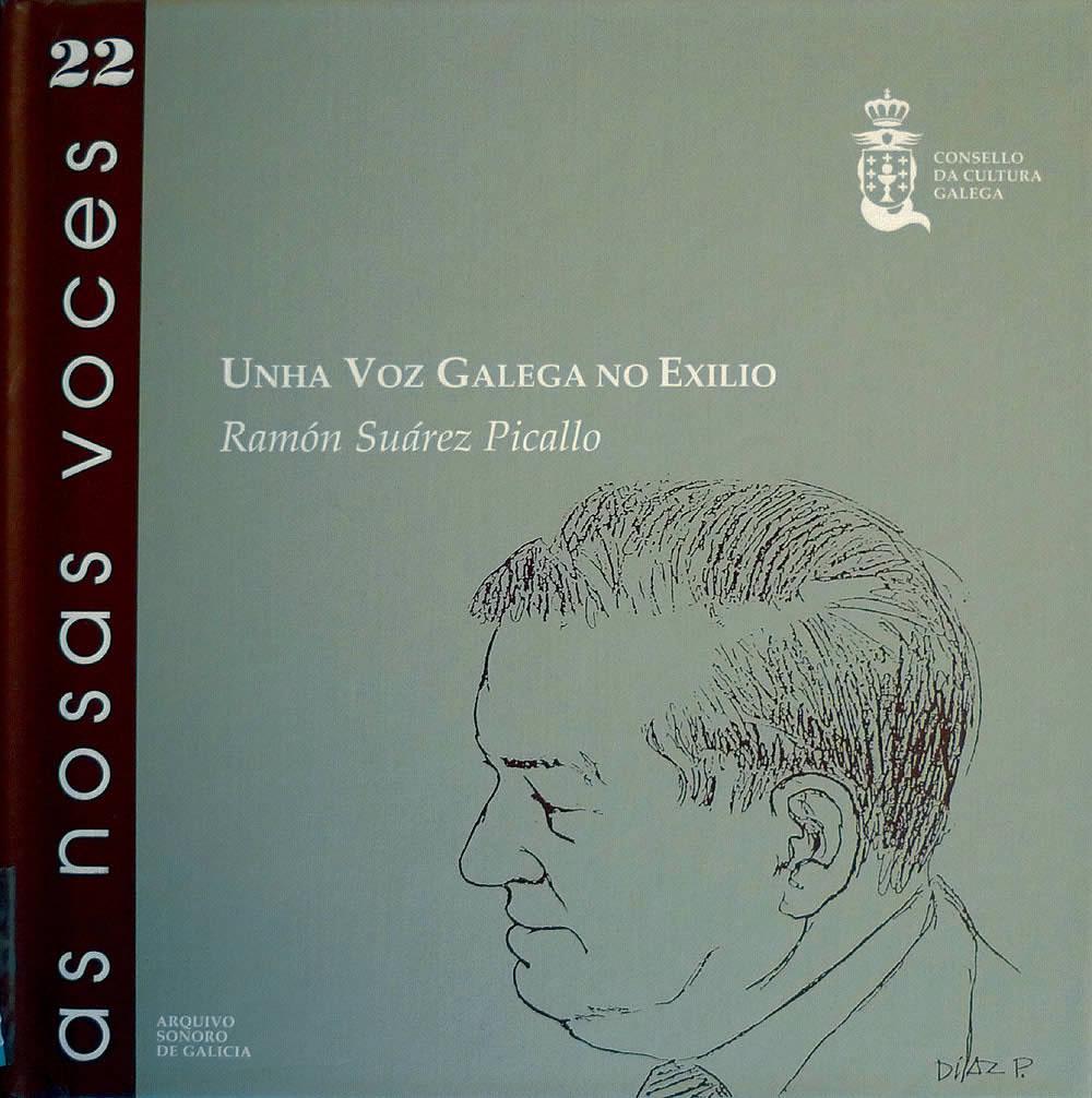 Portada de  Unha voz galega no exilio