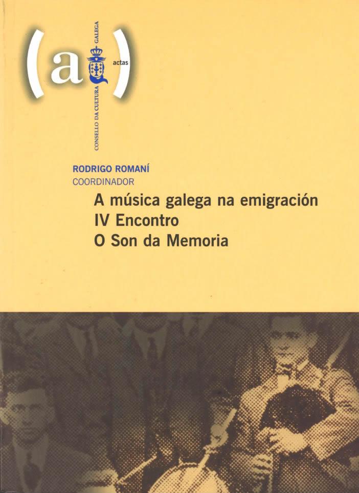 Portada de A música galega na emigración