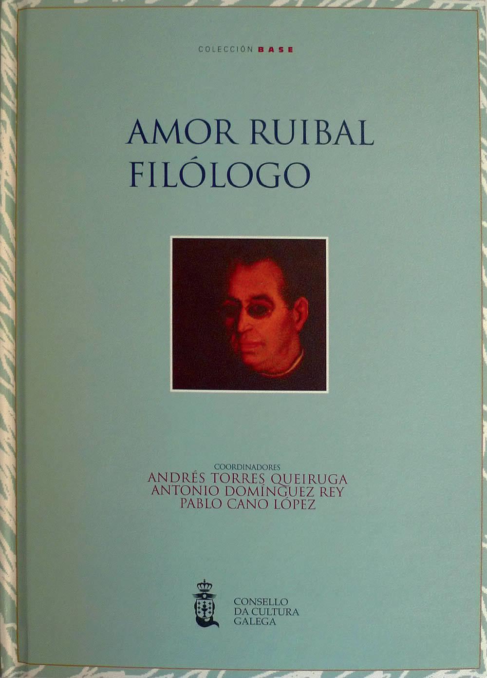 Portada de  Amor Ruibal Filólogo