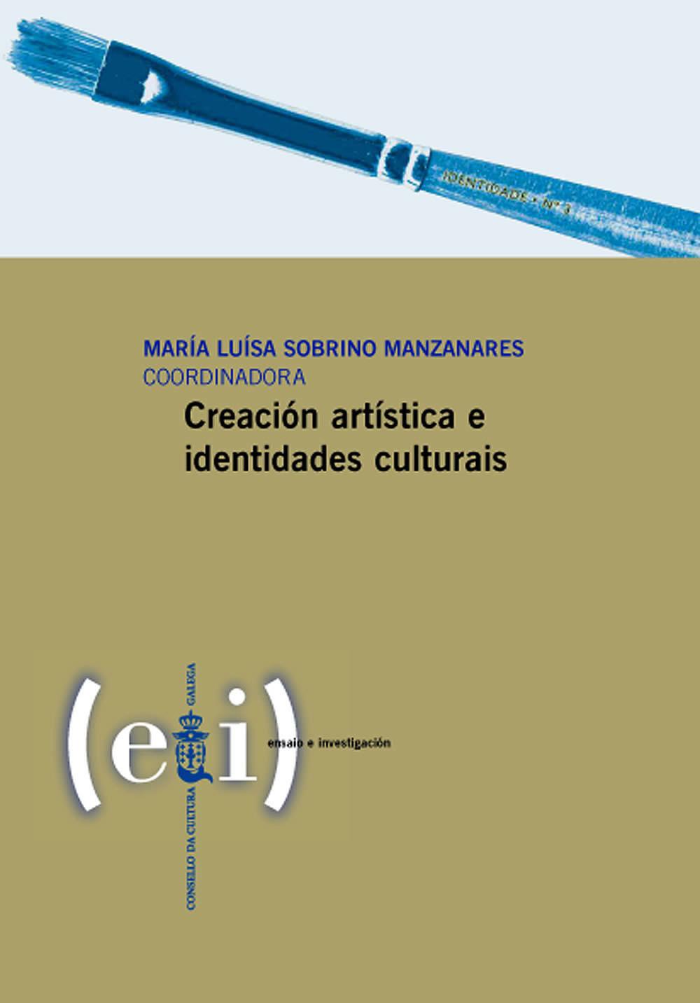 Portada de  Creación artística e identidades culturais