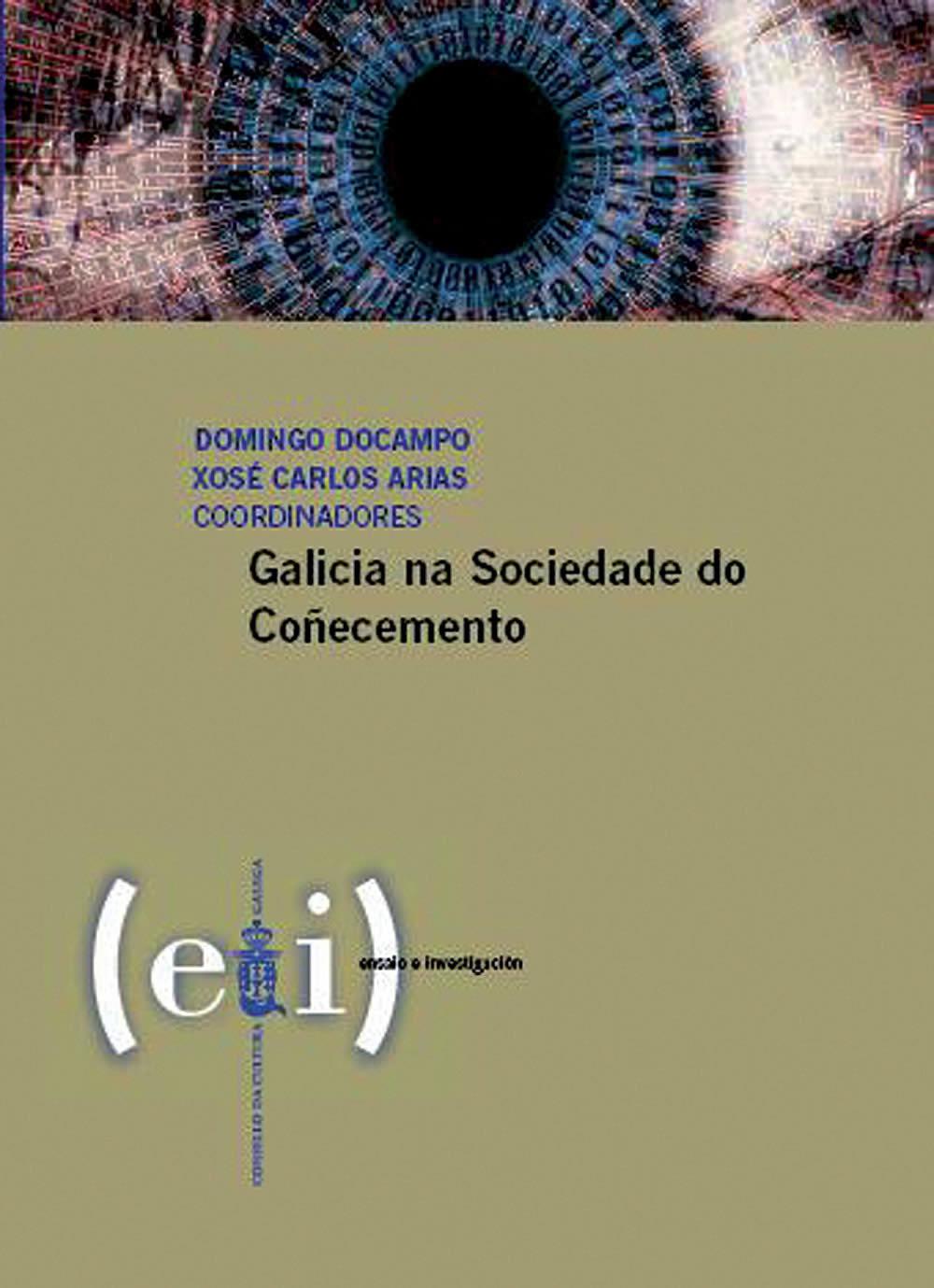 Portada de  Galicia na sociedade do coñecemento