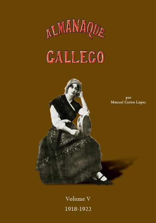 Portada de  Almanaque gallego por Manuel Castro López (Volume V: 1918-1922)