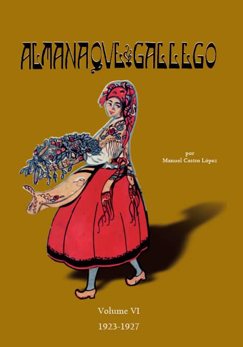 Portada de  Almanaque gallego por Manuel Castro López (Volume VI: 1923-1927)
