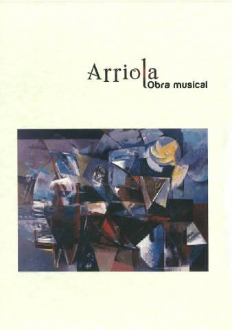 Portada de  Arriola, obra musical