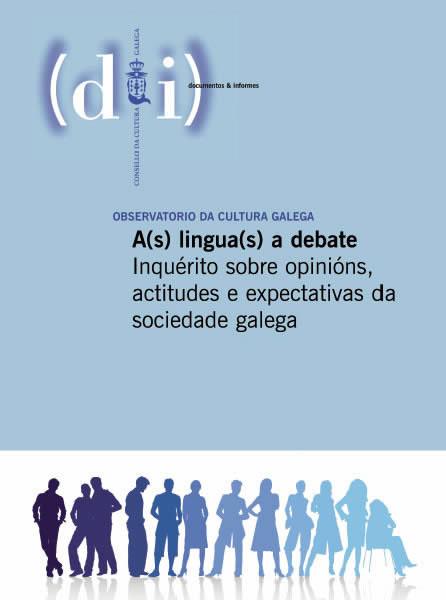 Portada de A(s) lingua(s) a debate