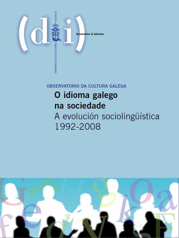 Portada de O idioma galego na sociedade