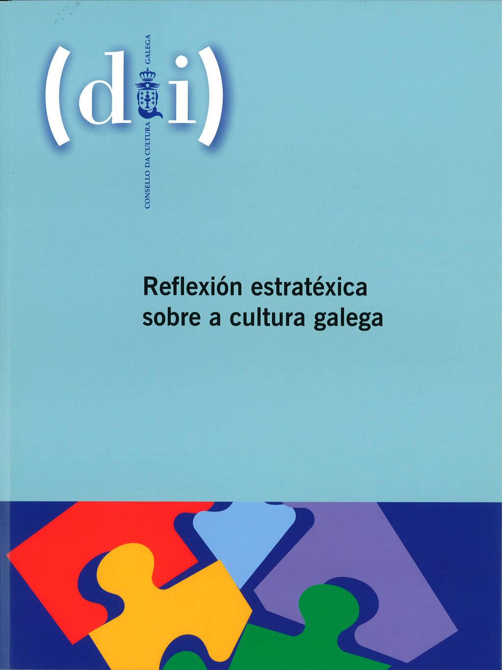 Portada de  Reflexión estratéxica sobre a cultura galega
