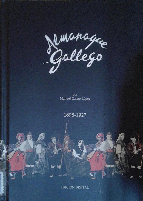 Portada de  Almanaque gallego  por Manuel Castro López (1898-1927)