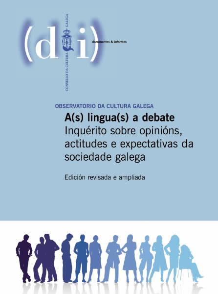 Portada de A(s) lingua(s) a debate (Edición revisada e ampliada)