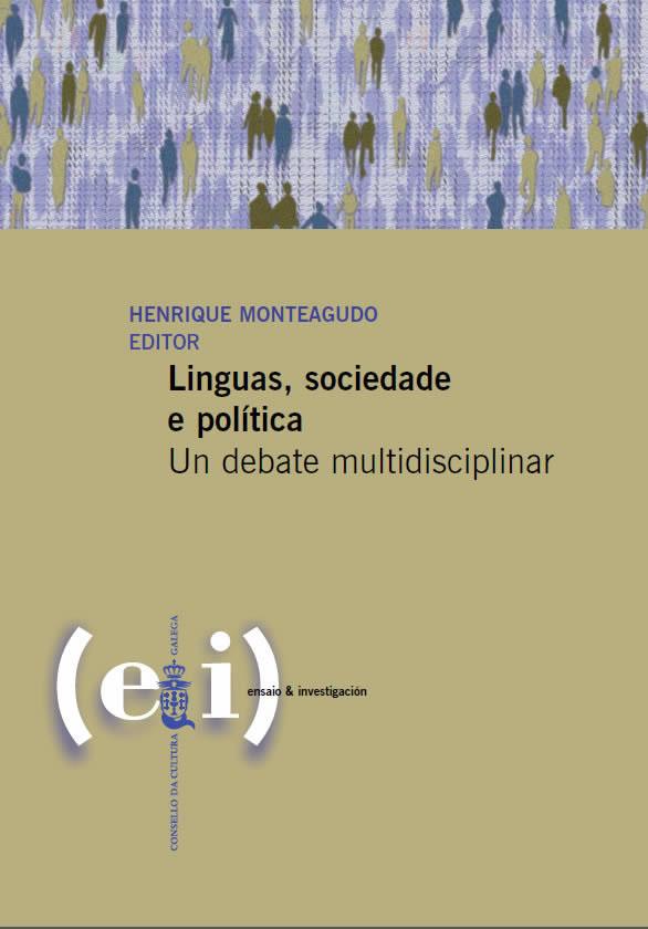 Portada de  Linguas, sociedade e política