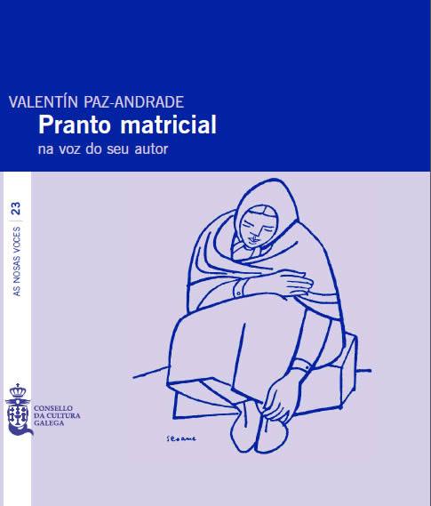 Portada de  Pranto matricial na voz do seu autor