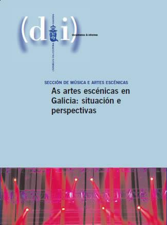 Portada de As artes escénicas en Galicia