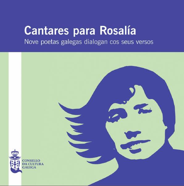 Portada de  Cantares para Rosalía