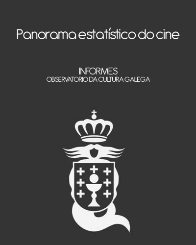 Portada de  Panorama estatístico do cine