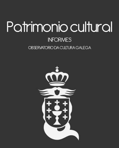 Portada de O patrimonio cultural en Galicia