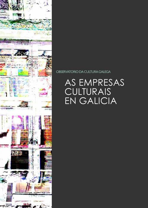 Portada de As empresas culturais en Galicia