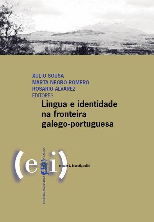 Portada de  Lingua e identidade na fronteira galego-portuguesa