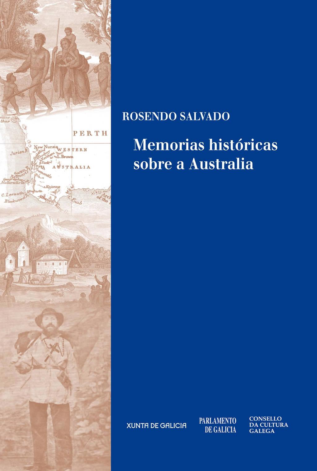 Portada de  Memorias históricas sobre a Australia