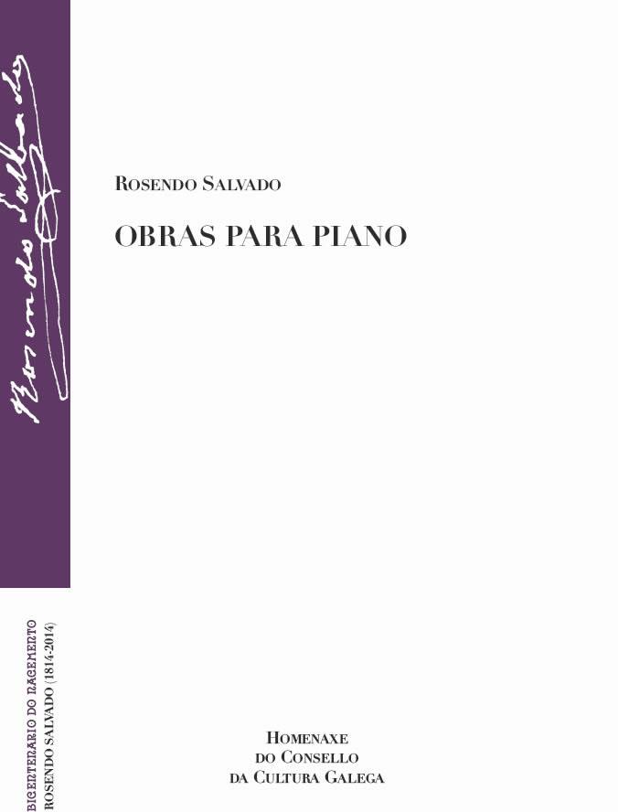 Portada de  Obras para piano