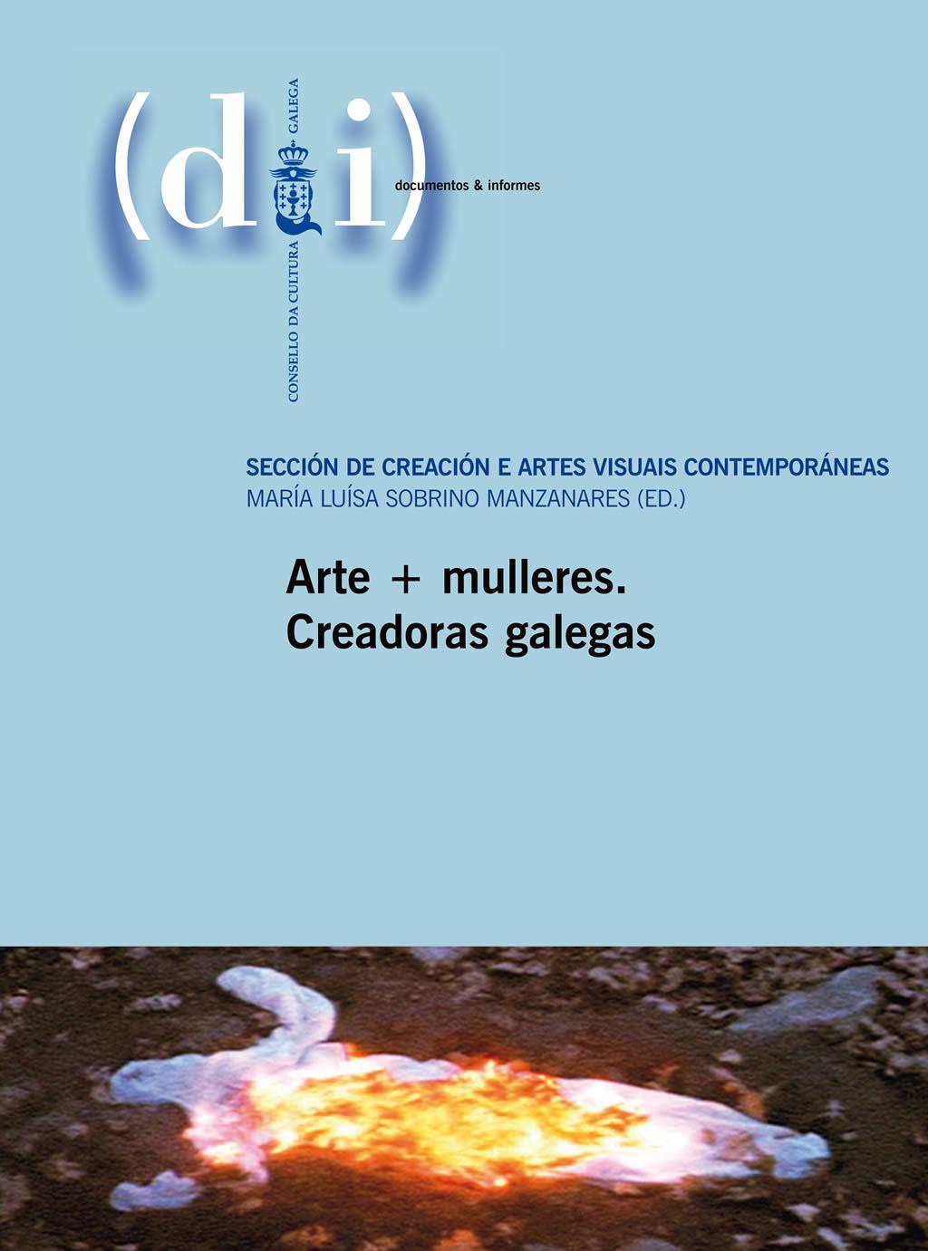 Portada de  Arte+mulleres. Creadoras galegas