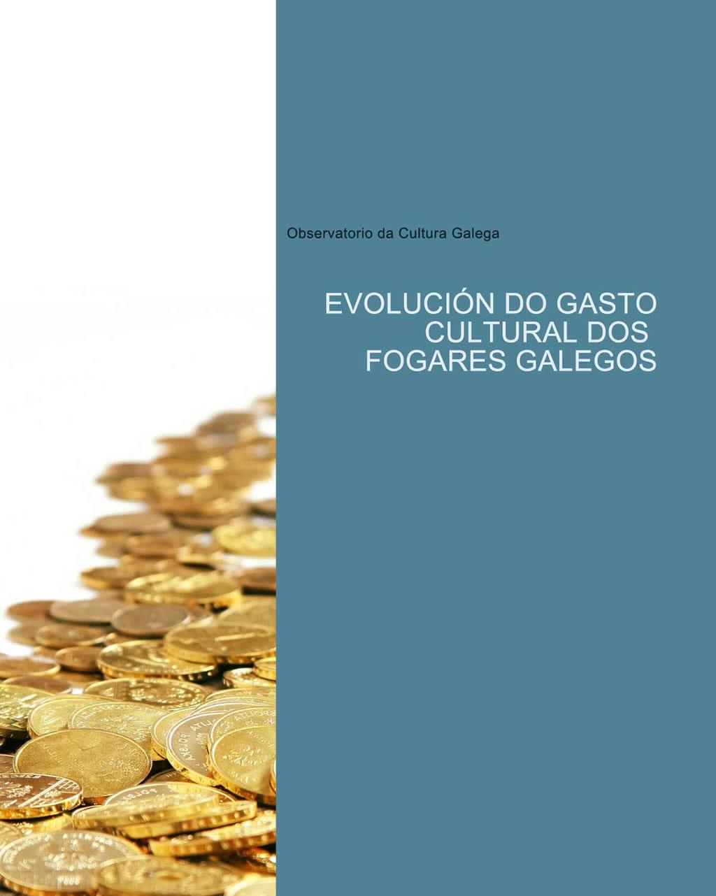 Portada de  Evolución do gasto cultural dos fogares galegos