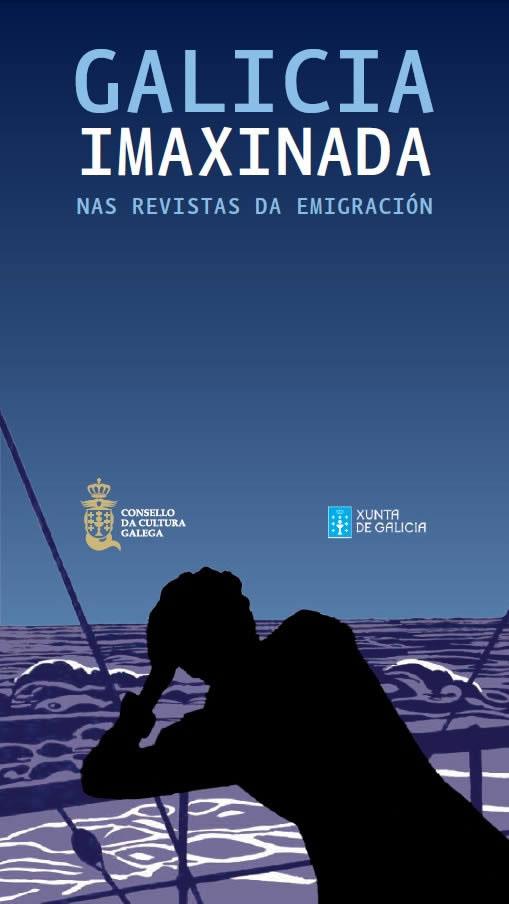 Portada de  Galicia imaxinada nas revistas da emigración
