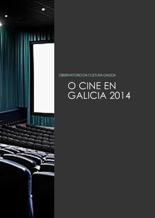 Portada de O cine en Galicia en 2014
