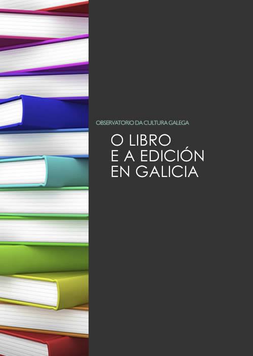 Portada de O libro e a edición en Galicia