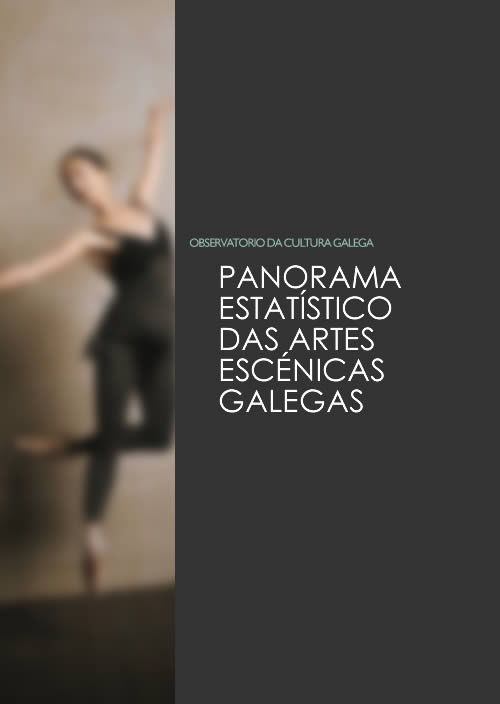 Portada de  Panorama estatístico das artes escénicas galegas