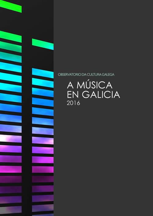 Portada de A música en Galicia (2016)