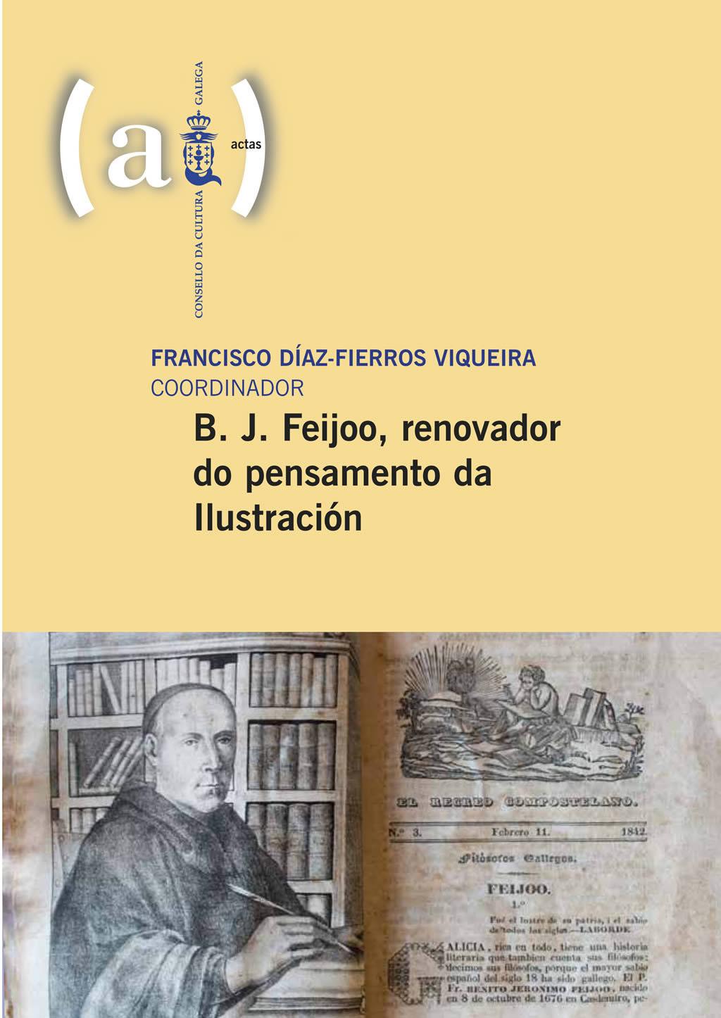 Portada de  B. J. Feijoo, renovador do pensamento da Ilustración