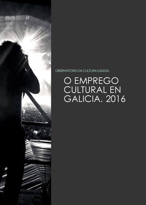 Portada de O emprego cultural en Galicia