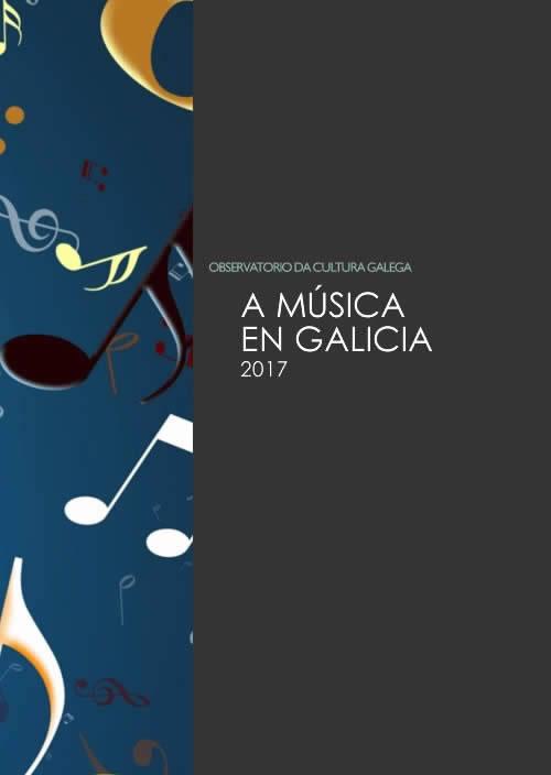 Portada de A música en Galicia
