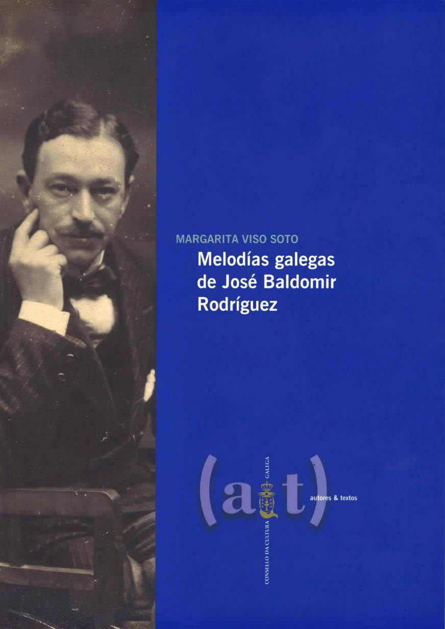 Portada de  Melodías galegas de José Baldomir Rodríguez