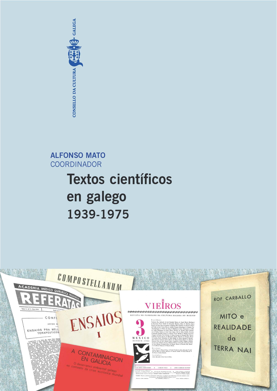 Portada de  Textos científicos en galego