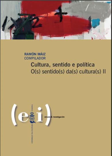 Portada de  Cultura, sentido e política