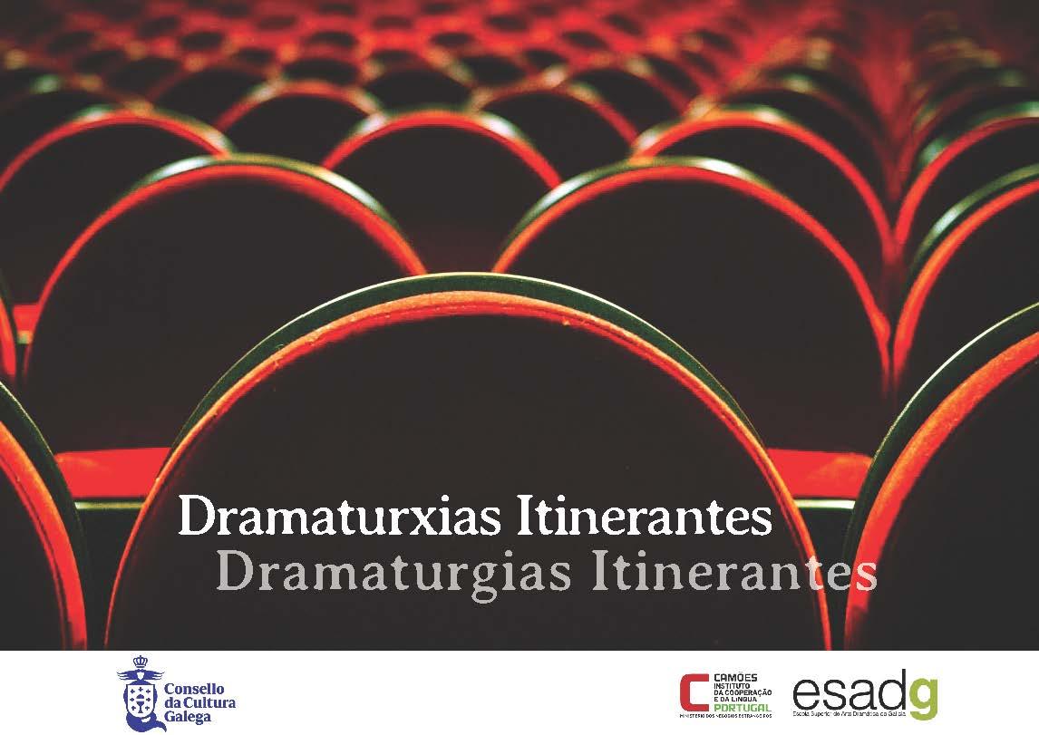 Portada de  Dramaturxias Itinerantes [ed. outono 2019]