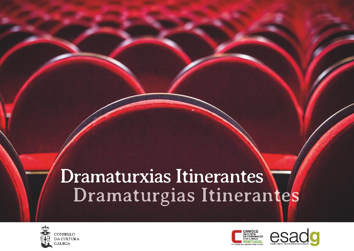 Portada de  Dramaturxias Itinerantes [ed. primavera 2019]