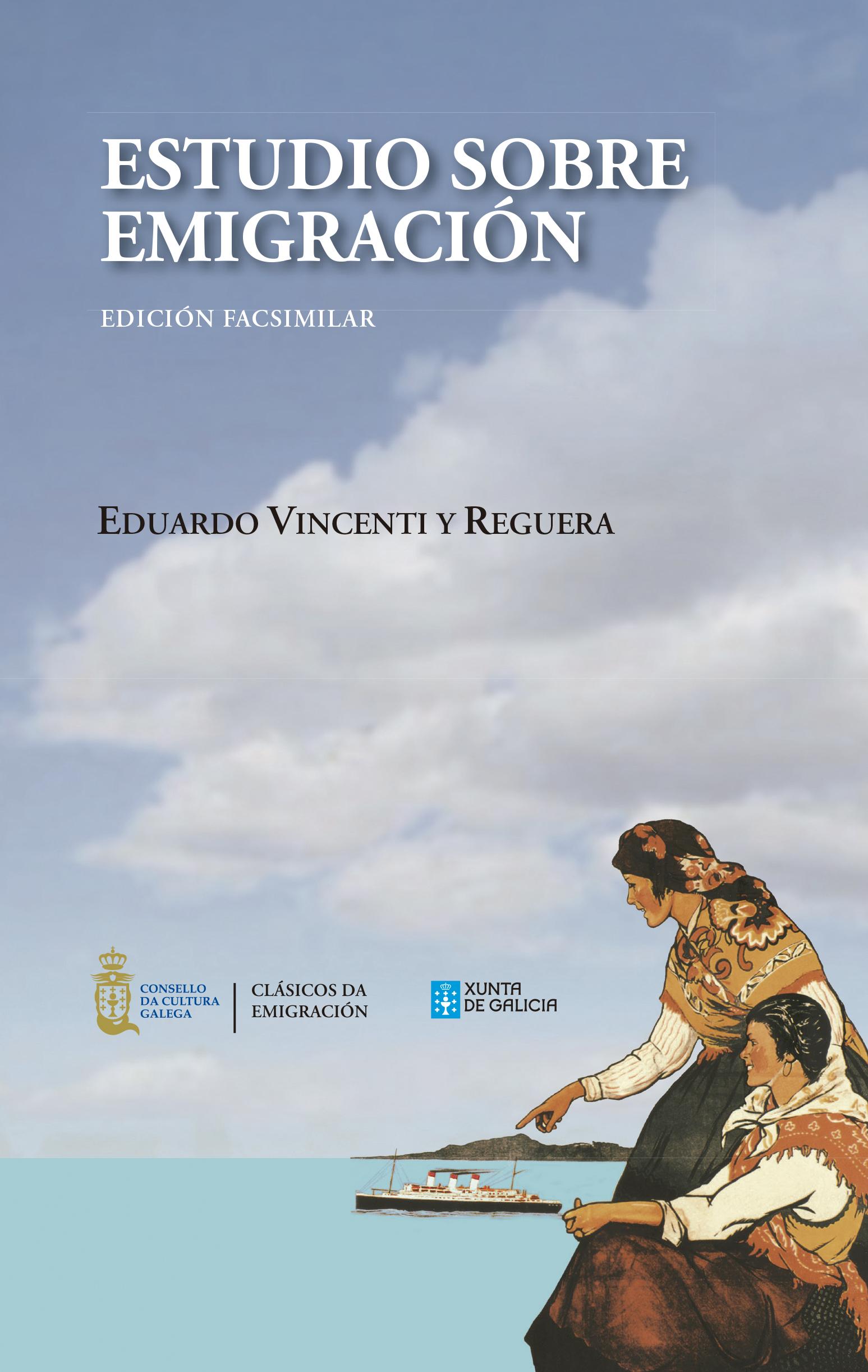 Portada de  Estudio sobre emigración