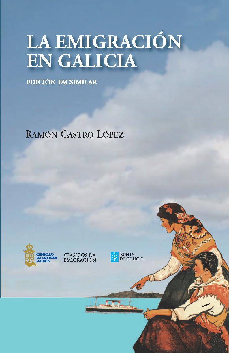 Portada de La emigración en Galicia