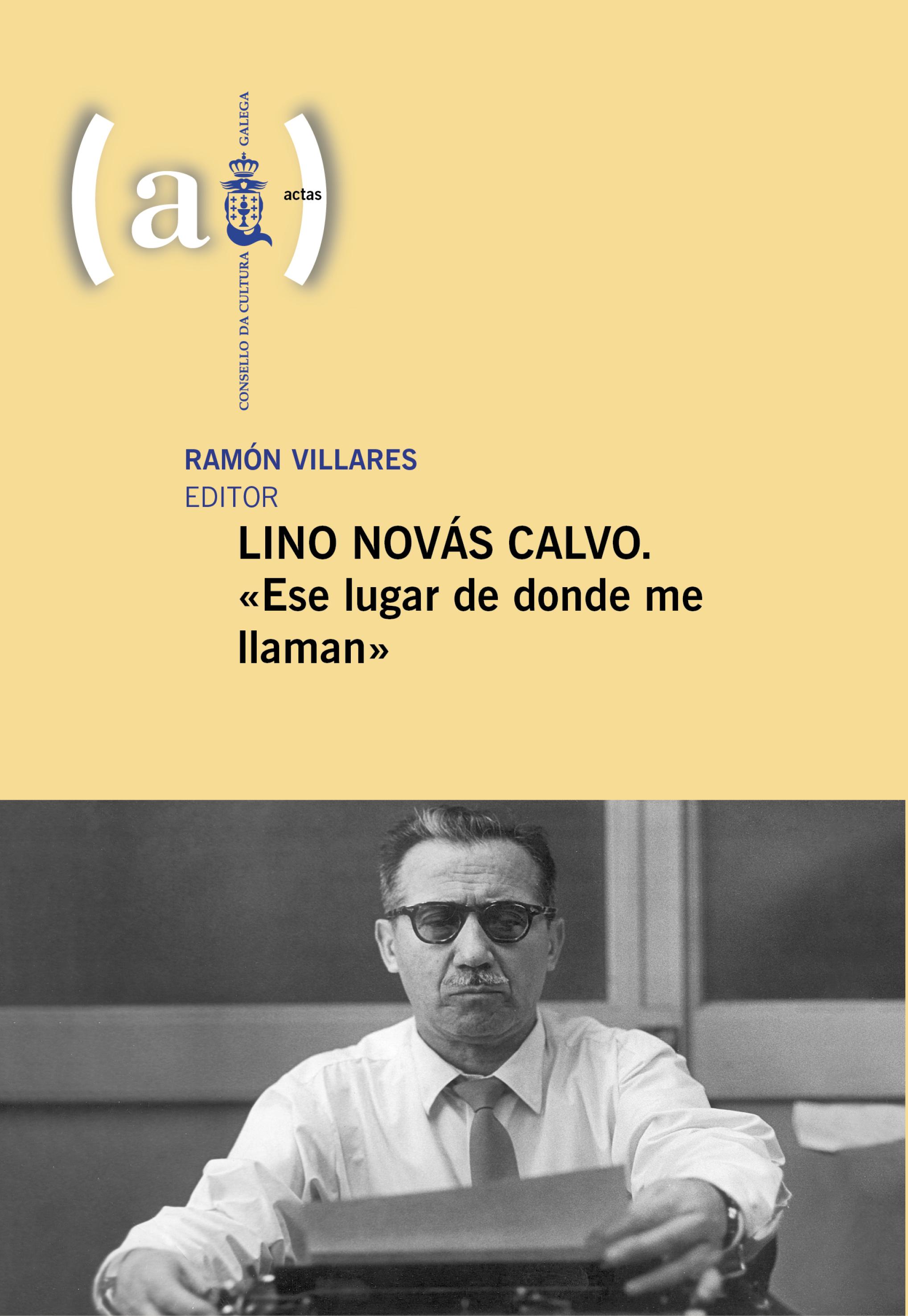 Portada de  Lino Novás Calvo