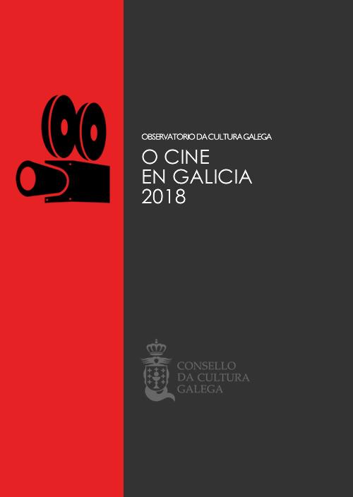 Portada de O cine en Galicia [2018]