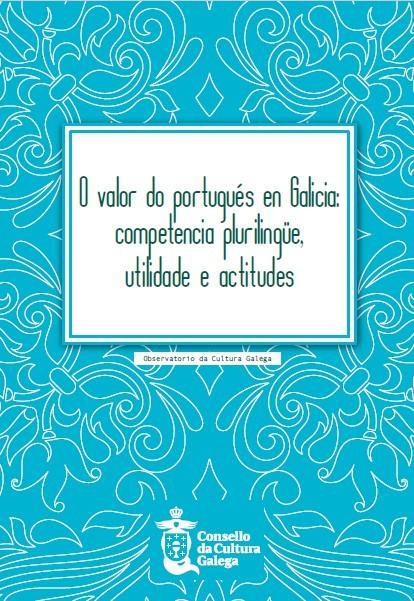 Portada de O  valor do portugués en Galicia