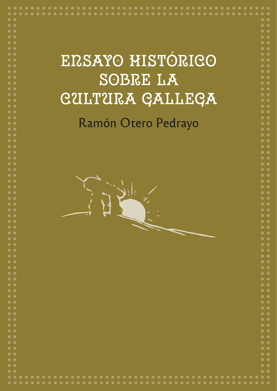 Portada de  Ensayo histórico sobre la cultura gallega