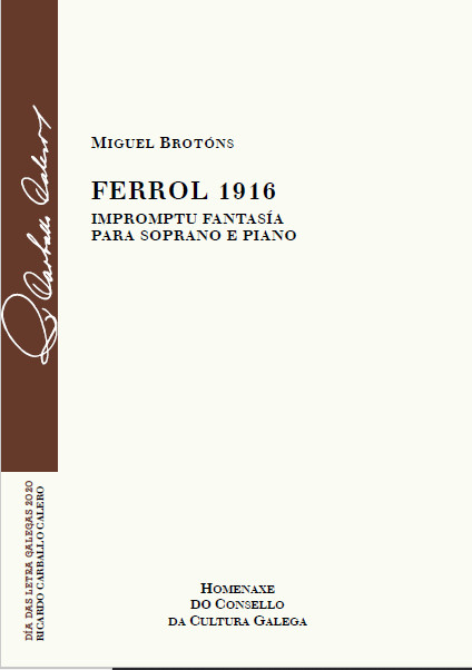 Portada de  Ferrol 1916