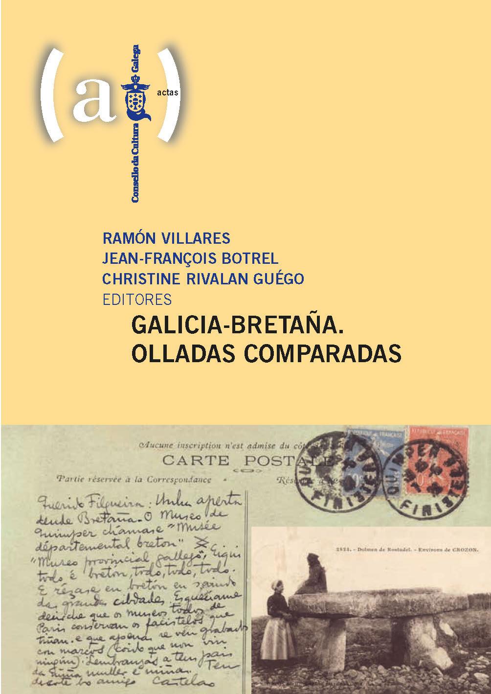 Galicia-Bretaña. Olladas comparadas