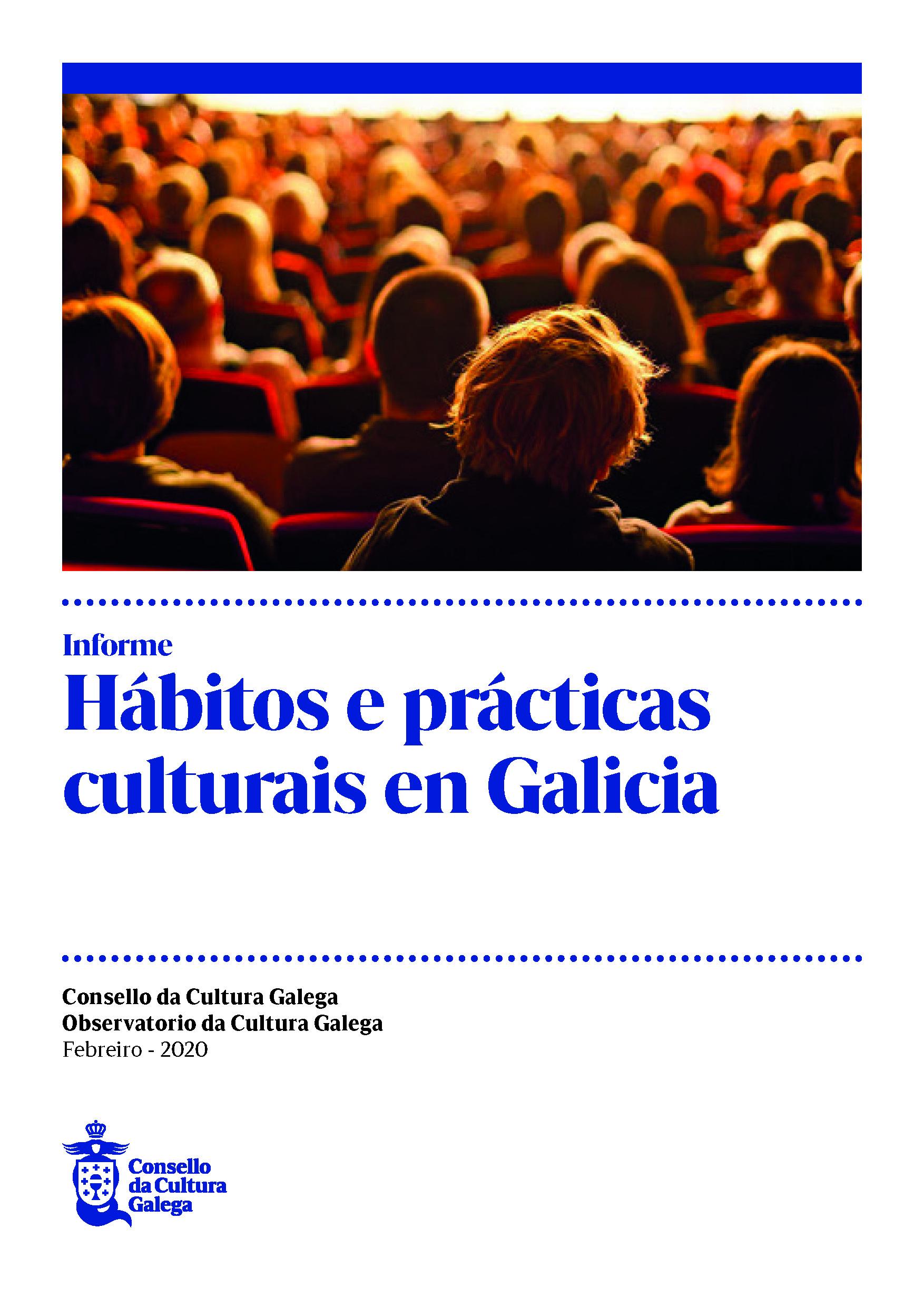 Portada de  Hábitos e prácticas culturais en Galicia
