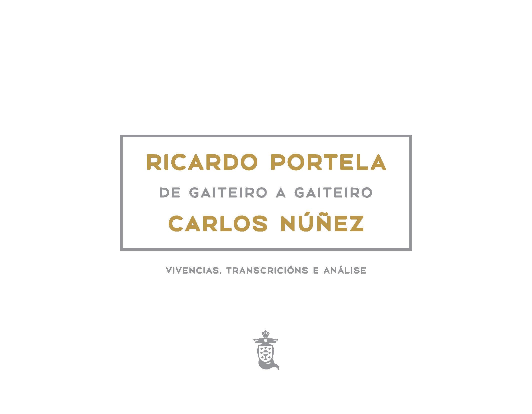 Portada de  Ricardo Portela