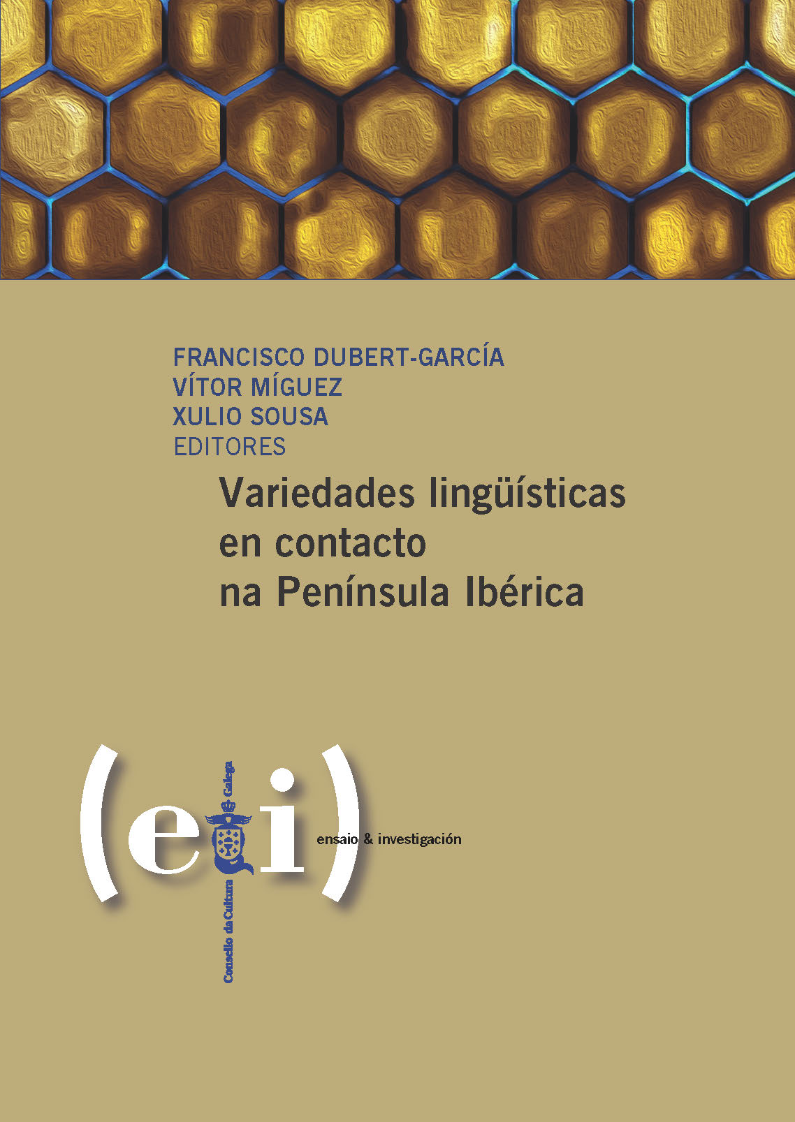 Portada de  Variedades lingüísticas en contacto na Península Ibérica