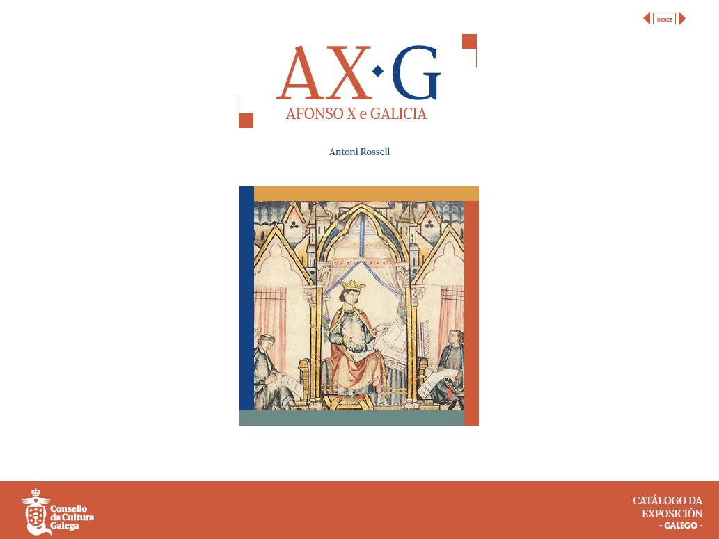 Portada de  AX-G. Afonso X e Galicia